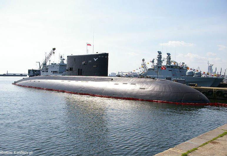 polish navy submarine technology