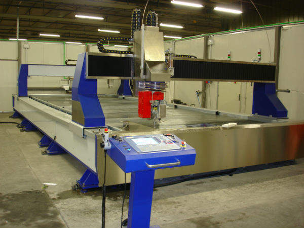 double bridge waterjet