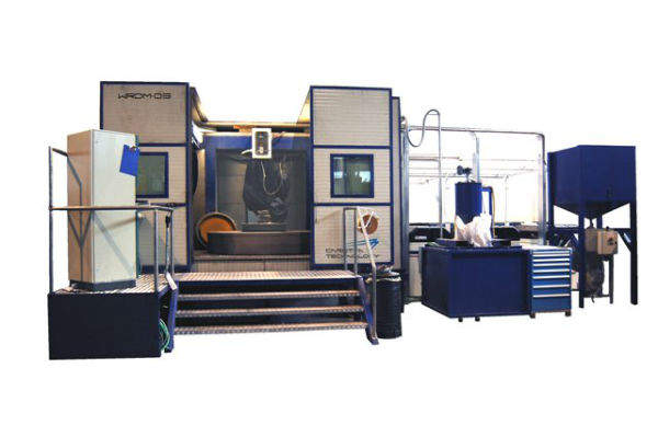 WATERJET ROBOTIC DEMILARIZATION SYSTEM