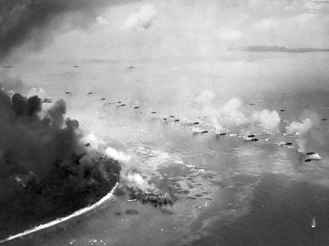 landing craft wave