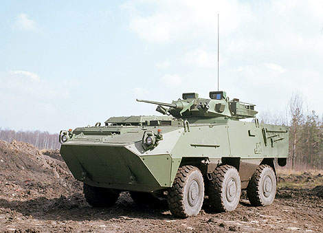 The Pandur II is being developed for the Austrian Army.