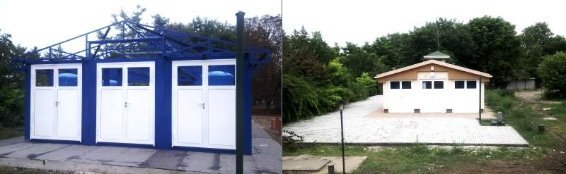 permanent waterworks from containers