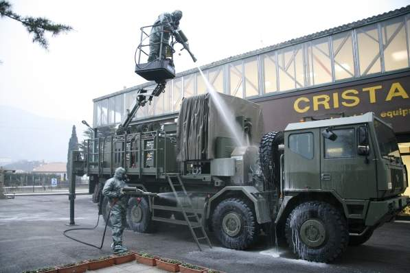 CBRN decontamination solutions