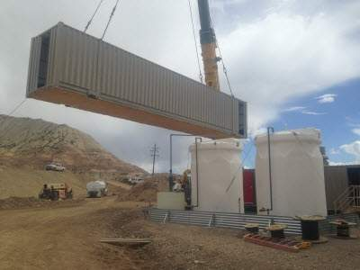 containerised water treatment systems