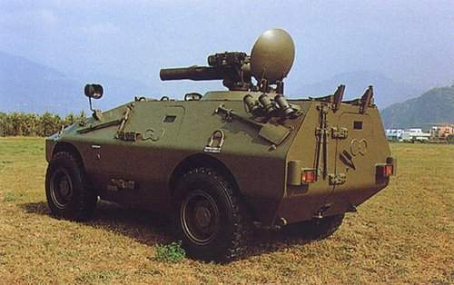 A 7.62 mm or 12.7 mm machine gun can be installed on the Puma's cupola.