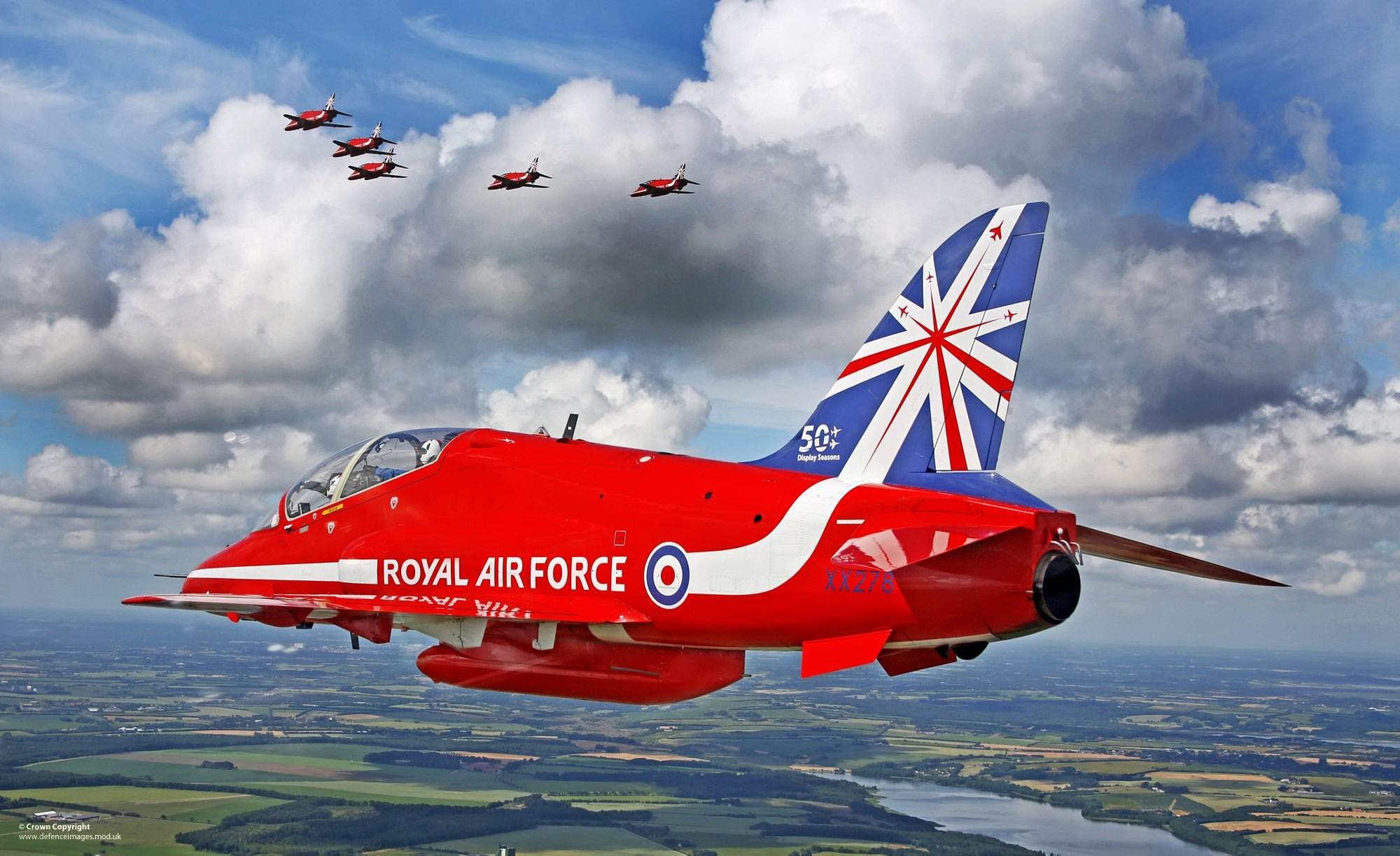 Red Arrow. Courtesy MoD.