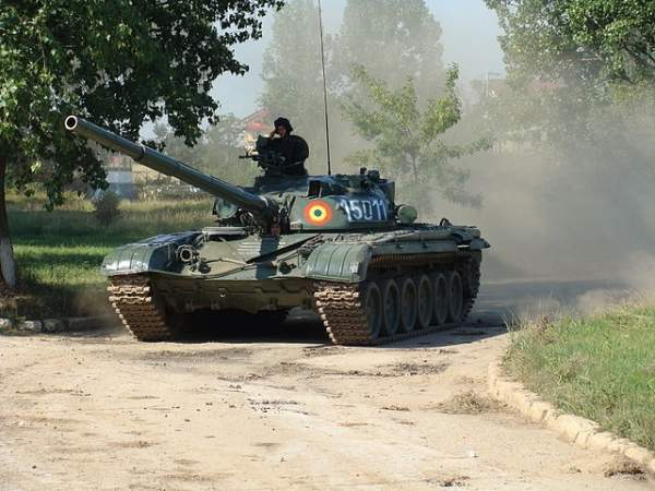 Romanian Army T-72