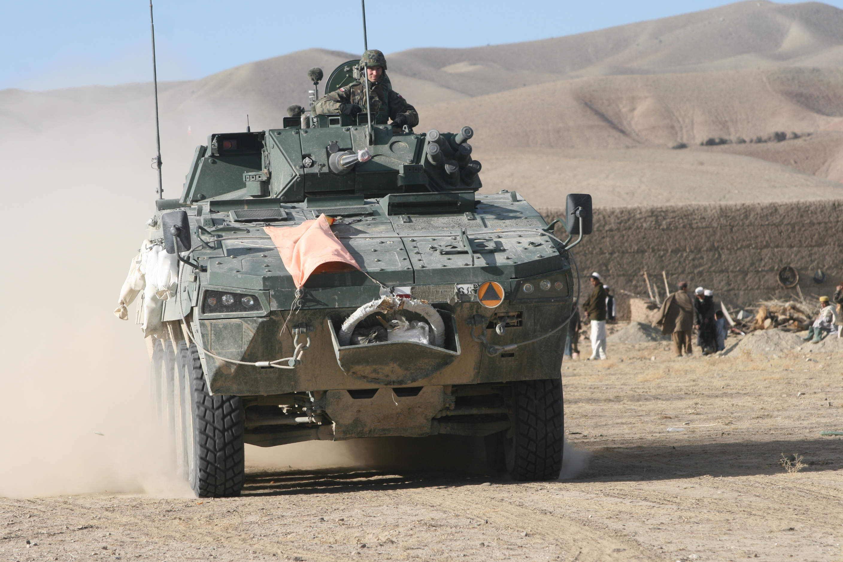 ASLAV armoured vehicle