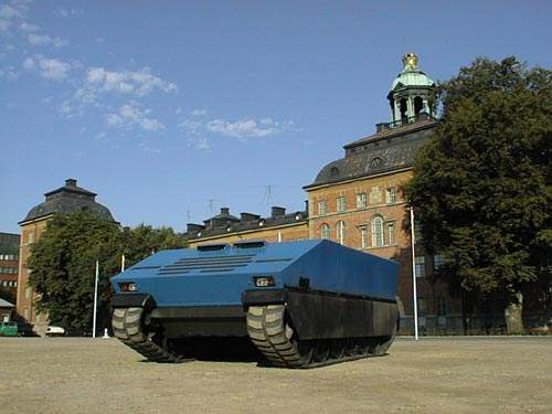 SEP Modular Armoured Tactical Vehicle