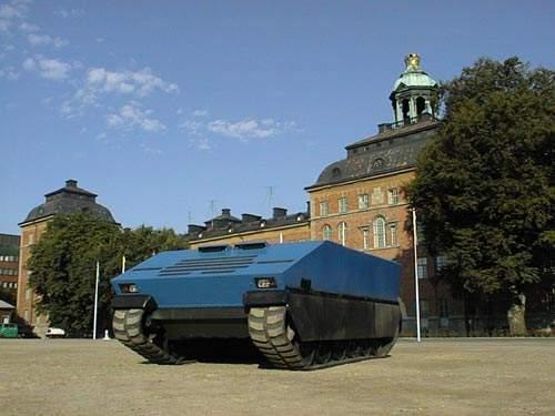 SEP Modular Armoured Tactical Vehicle