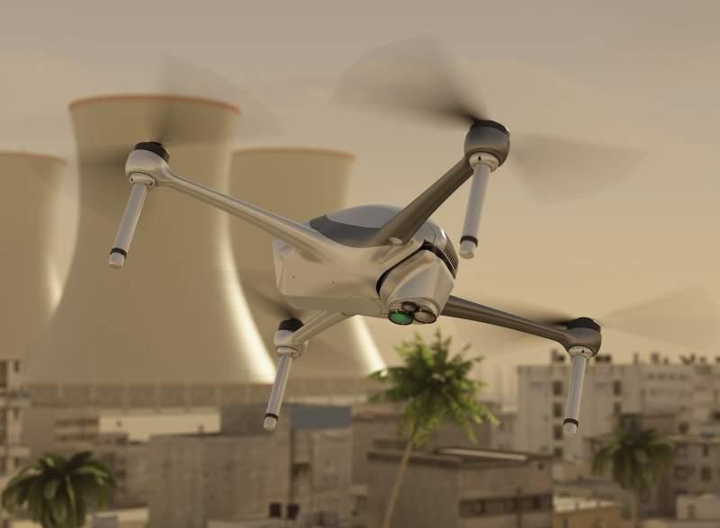 SpectroDrone, Laser Detect Systems, Airobotics Optimus, drone
