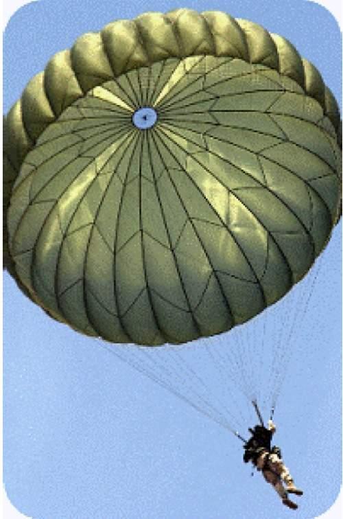 extended skirt parachute