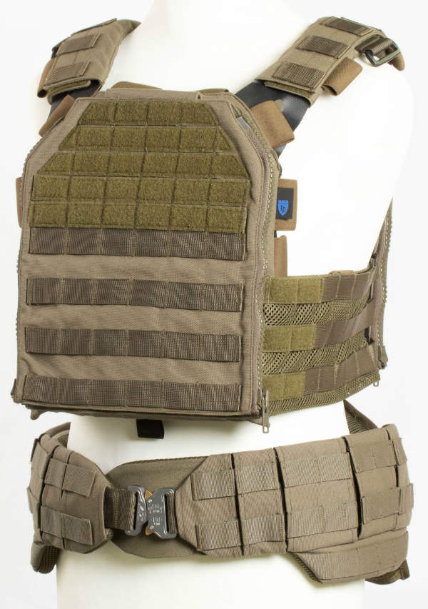 Verseidag Ballistic Protection's TACTICUM Plate Carrier and TACTICUM Battle Belt
