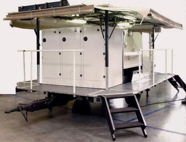 sanitary trailer
