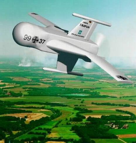 The TARES UAV has precise manoeuvrability and aerodynamic characteristics