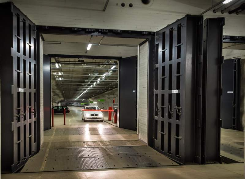 Temet blast resistant and gas-tight doors.