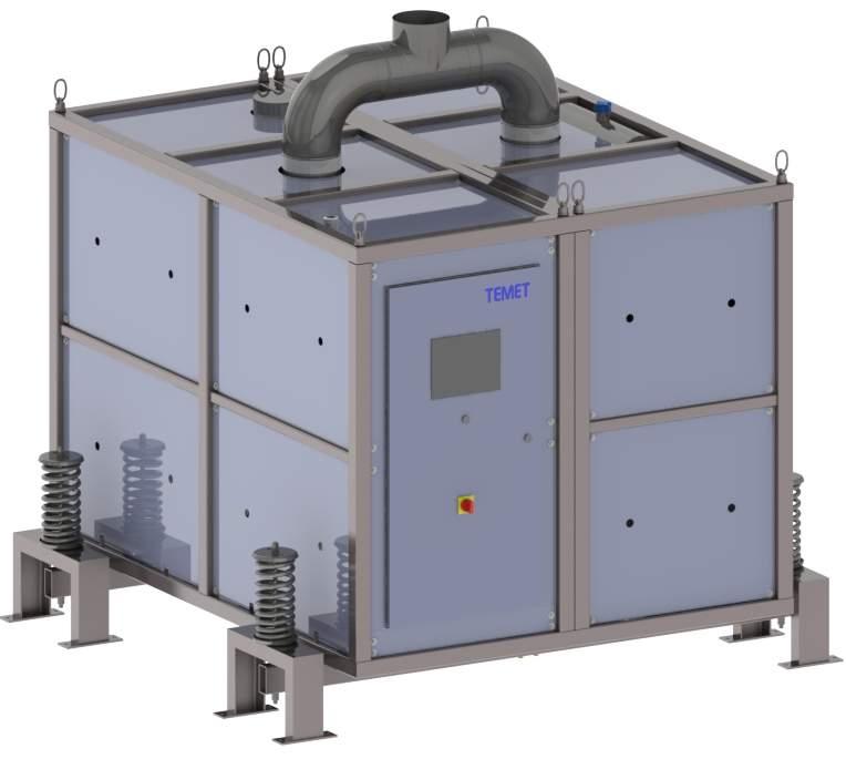Temet INT-1 standalone air-framed shelter module.
