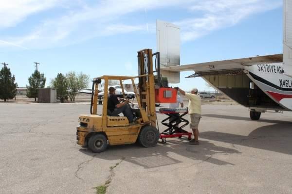 airdrop testing