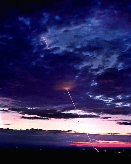 THAAD is designed to intercept incoming missiles at higher altitudes and greater distances than existing systems.
