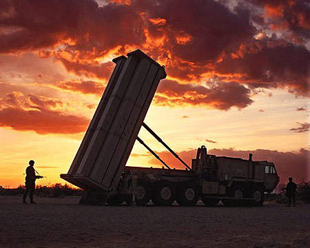Low Rate Initial Production (LRIP) of the THAAD missile system, up to 40 missiles a year, is currently planned to occur around 2006.