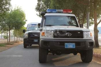 Armored Toyota LC 78 Ambulance