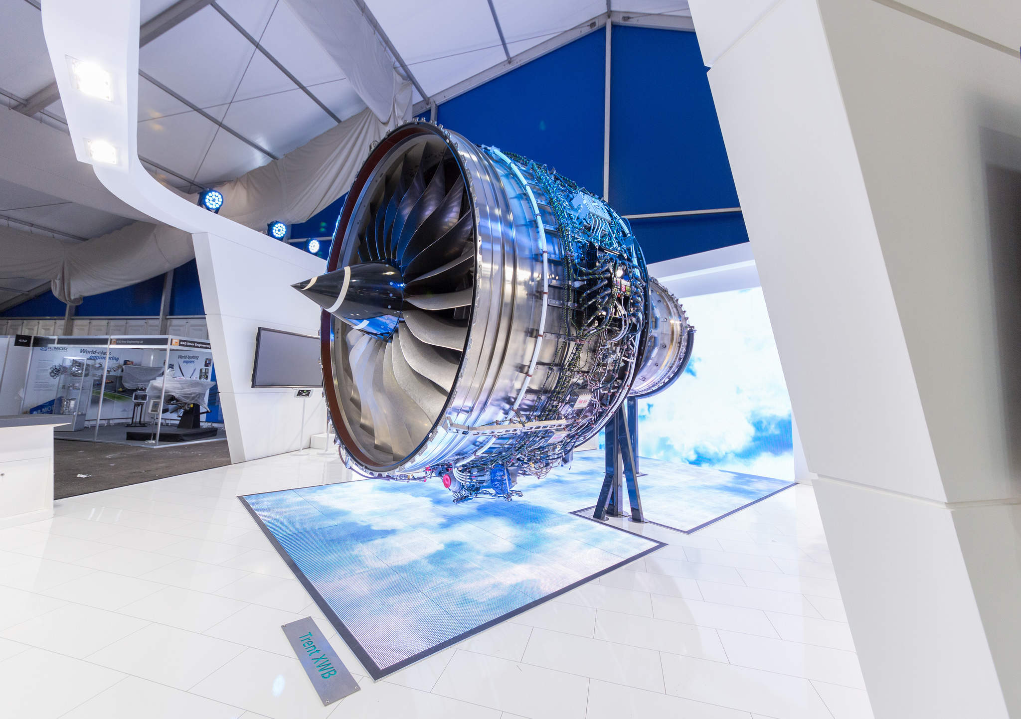 Rolls-Royce's contract is to maximise the number of engines available to power training missions. Courtesy Rolls Royce.