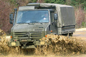 G-wagon Military Vehicle with Off-Road Capabilities