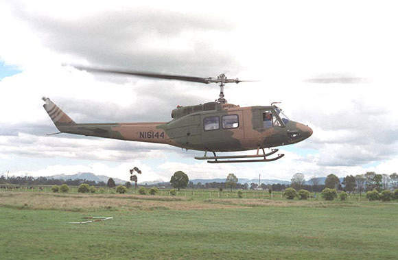 The UH-1 series helicopters have been serving the US forces in action since the Vietnam War in the 1960s. Seen here is the UH-1N.