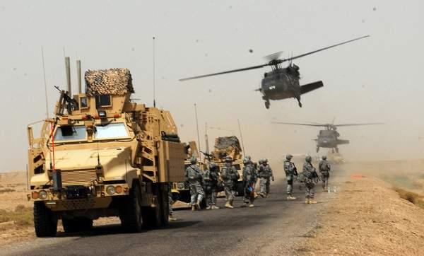 US Army convoy
