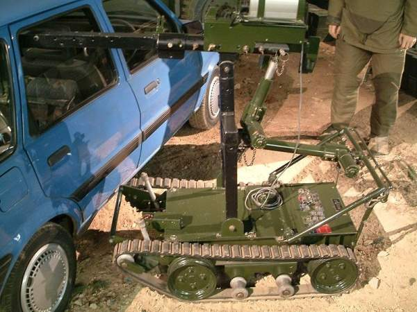 the British Army's 'Wheelbarrow'