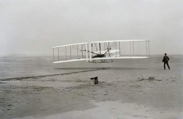 Wright brother's aircraft