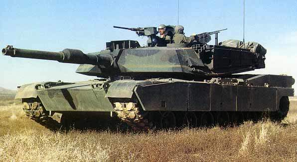 M1A2, the upgraded version of M1-A1.
