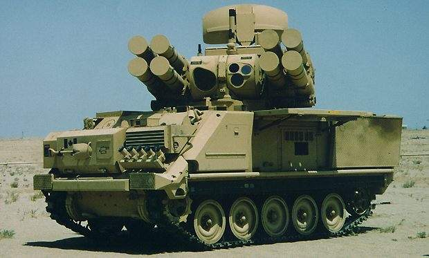 The ADATS systems firepower which features eight last beamriding missiles