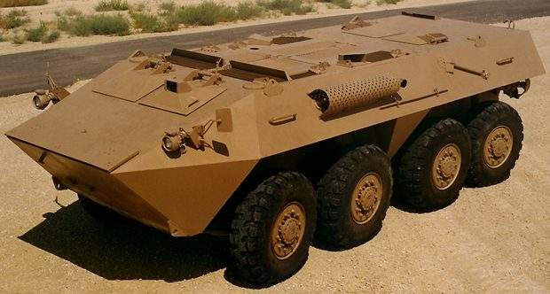 The Al Fahd armoured fighting vehcile developed by Abdallah Al Faris