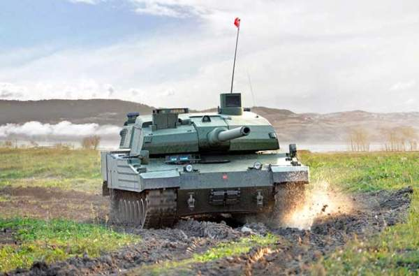 Turkey Altay tank