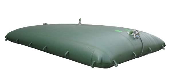 Collapsible fabric storage tank (aka bladder)