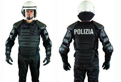 anti-riot gear