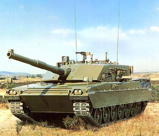 Ariete MBT's 120mm Smooth Bore Gun