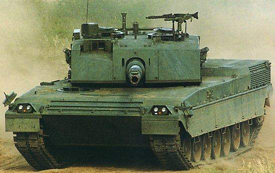 The Ariete MBT Armoured Tank Protection