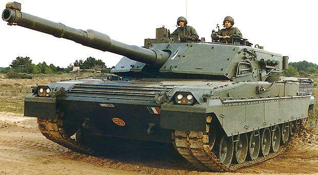 The Ariete Main Battle Tank