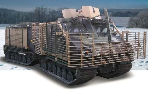 all-terrain vehicle armour