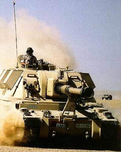 Desert version of the AS90.