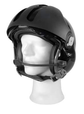 audio gooseneck for helicopter helmet