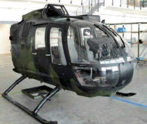 bullet-proof helicopter