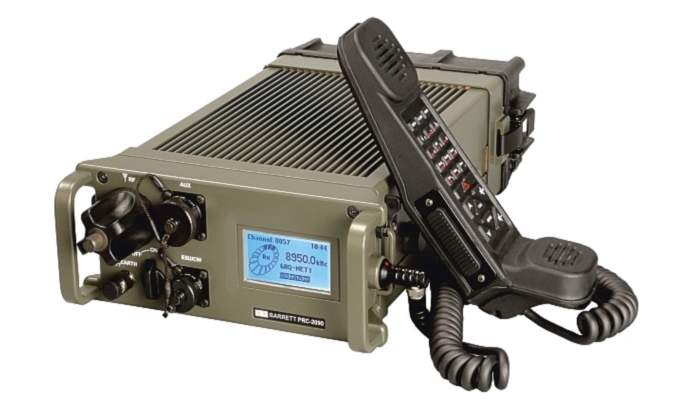 Radio System from Barrett Military Communications