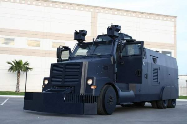 armored riot control