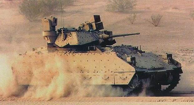 Upgrade of the Bradley in the desert