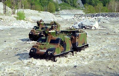 Bv206S Tracked Armoured Personnel Carrier - Army Technology
