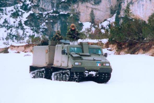 The Bv206S is a extreme temperature operational vehicle