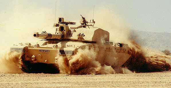 Challenger 2 deployed in the Gulf.